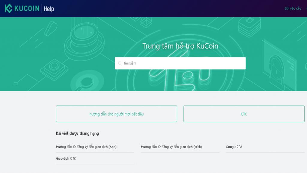 Đánh giá Kucoin- Hỗ trợ khách hàng