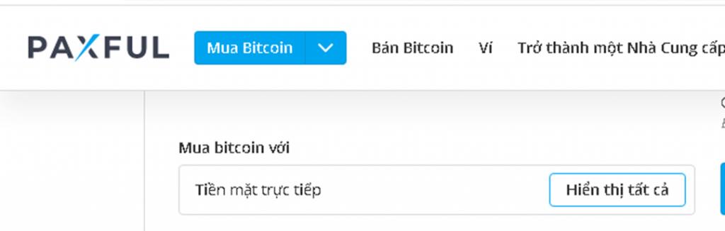 Hướng dẫn cách mua Tiền điện tử Bitcoin cho người mới Paxful-vncrypto.com