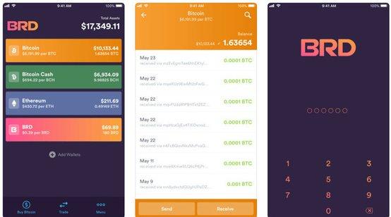 Ví BRD crypto bitcoin di động tốt nhất cho iOS và android-vncrypto.com