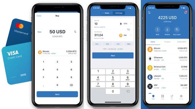 Ví Trust Wallet cho crypto bitcoin di động iOS android tốt nhất-vncrypto.com